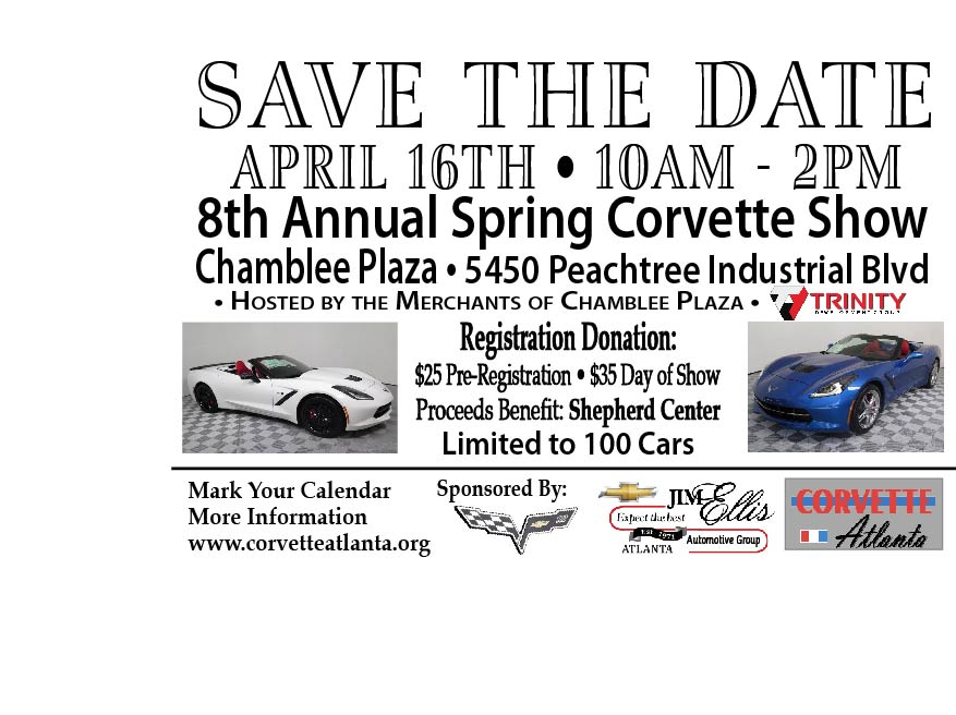 Apr 16 Car Show-Save the Date